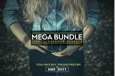 1000+ Mega Bundle Lightroom Presets