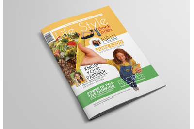 44 pages Lifestyle Magazine Template