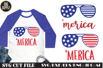 Merica SVG Patriotic SVG Cut File