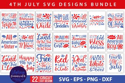 4Th Of July Svg Bundle Vol- 03