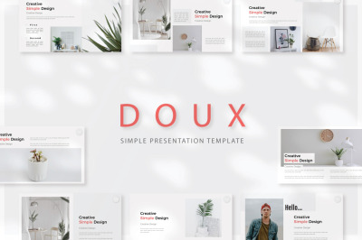 DOUX - Powerpoint Templates