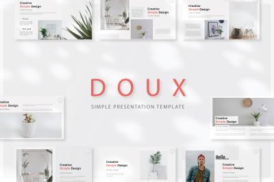 DOUX - Keynote Templates