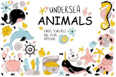 Sea Animals - Vector Collection
