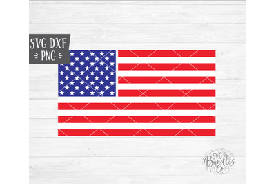 American Flag, 4th of July SVG DXF PNG