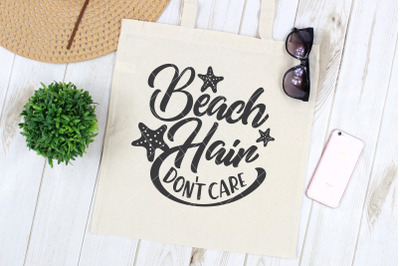 Beach Hair Don't Care SVG DXF PNG