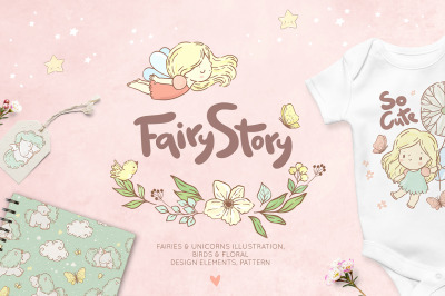 Fairies & unicorns collection