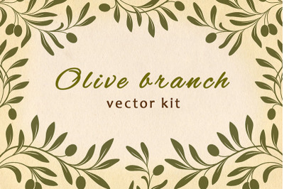 Decorative Olive Branches