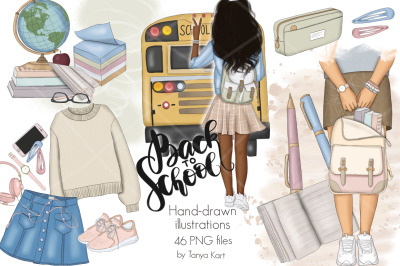 Back To School Clipart & Patterns
