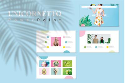 Unicornetto - Pastel PowerPoint
