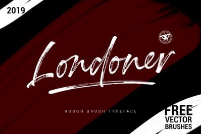 Londoner Handwritten Dry Brush
