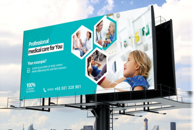 Health Care And Medical Billboard