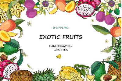 EXOTIC FRUITS.
