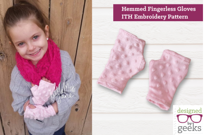 Fingerless Gloves ITH | Embroidery