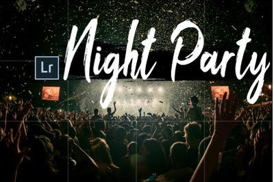 Neo Night Party Theme Desktop Lightroom Presets