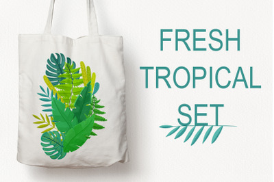 Fresh Tropical Set