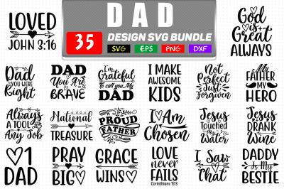 Dad Svg Bundle Vol- 2, Dad T shirt Design