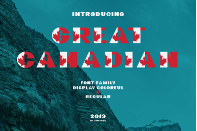 70% OFF - GreatCanadian-font family