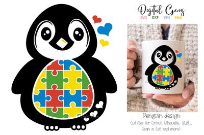 Penguin Jigsaw / Autism design