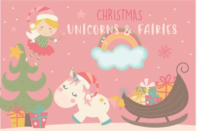 Christmas Unicorns & fairies