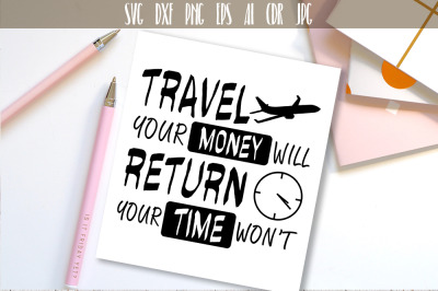 Travel SVG Adventure Quote Vector Typography