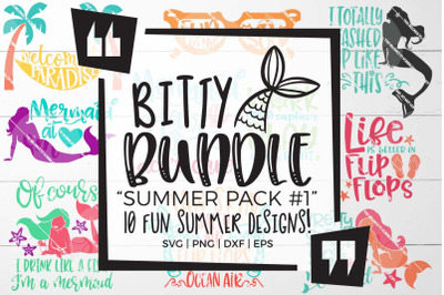 Summer Pack 1 SVG Bundle