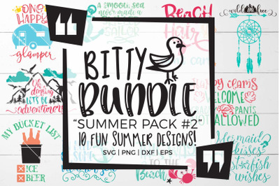 Summer Pack 2 SVG Bundle