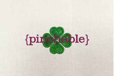 St. Patrick's Day Pinchable | Applique Embroidery