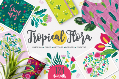 Tropical Flora Kit