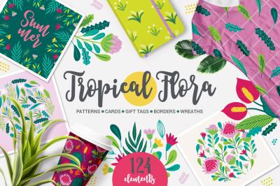 Tropical Flora Kit