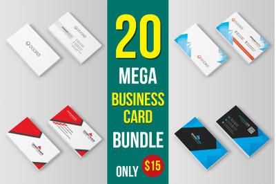 20 Business Card Mega Bundle