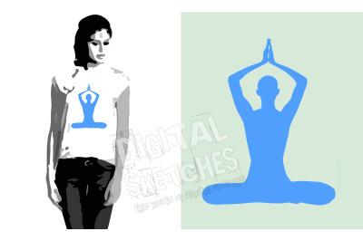 Yoga SVG, Meditation Vector, Yoga SVG, SVG, DXF Cricut