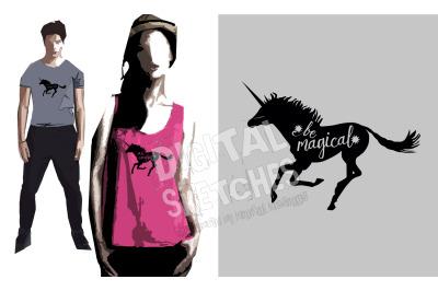 Unicorn Vector Graphic, Saying Svg, Unicorn Cut File, SVG, DXF