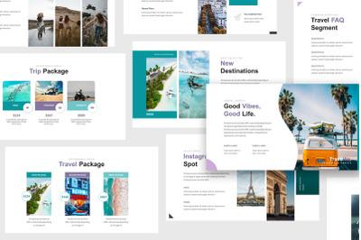 Travel Agency Google Slides Template
