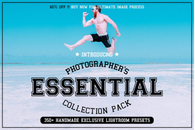 350+ Photographers Essential Collection