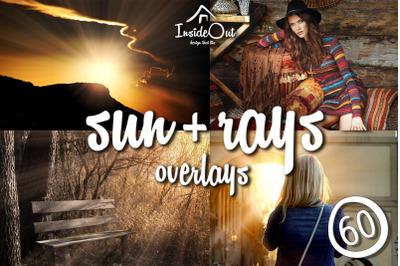 Sunlight Overlay Photoshop Sunset flare light , Spring Summer Sun PSD