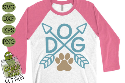 Dog Arrows SVG