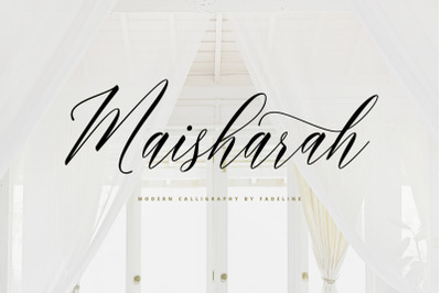 Maisharah Modern Calligraphy