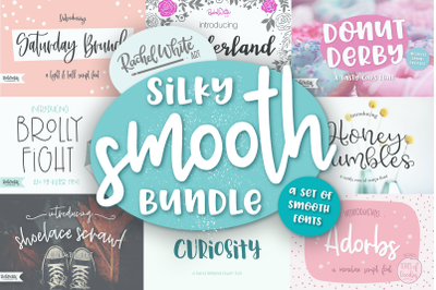 Silky Smooth Font Bundle