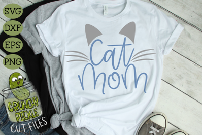 Cat Mom SVG