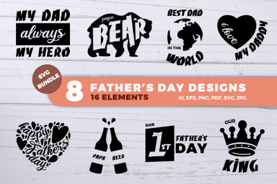 Father's Day SVG Bundle