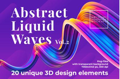 Abstract Liquid Waves