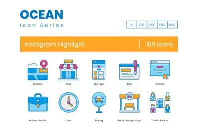 105 Instagram Highlight Icons