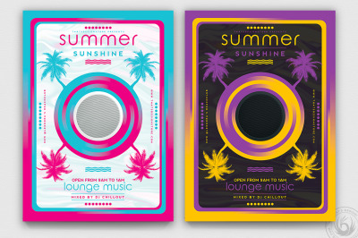 Minimal Summer Flyer Template V3