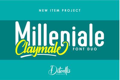 Milleniale Font Duo