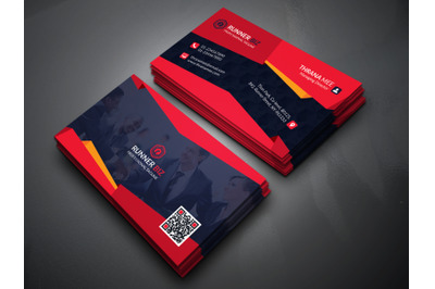3D Style Business Card Template