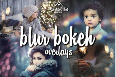 Blur Bokeh Overlay. Christmas Tree Light Defocused Gold Shine backdrop