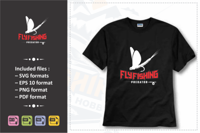 Fishing Tshirt Design.