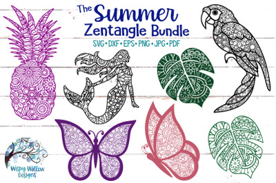 The Summer Zentangle SVG Bundle