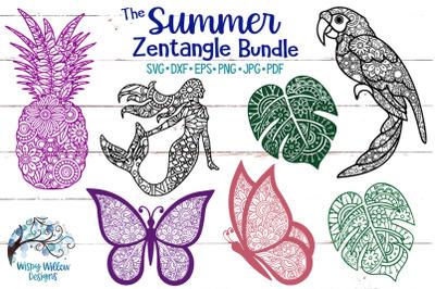 The Summer Zentangle SVG Bundle