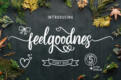 Feelgoodnes Font Duo